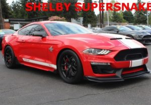 2019 Ford Mustang SHELBY SUPERSNAKE